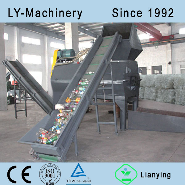 PET Bottle Label Removing Machine